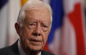 كارتر يدعو لاعتراف أميركا بدولة فلسطين