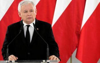 رئيس حزب العدالة والقانون الحاكم في بولندا ياروسلاف كاتشينسكي