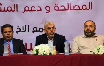 السنوار: سنُناقش قضيّة اللاجئين وما تتعرّض له في جولة حوارات القاهرة القادمة