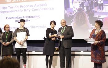 جامعة بوليتكنك فلسطين تحصل على جائزة دولية في الريادة والكفاءة