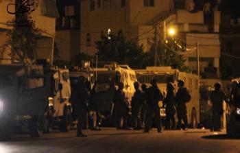 من الأرشيف توغل لقوات الاحتلال أثناء الاقتحامات