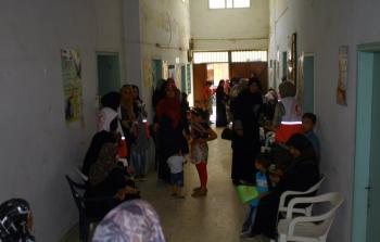 تنظيم يوم صحي في مخيم البص للاجئين