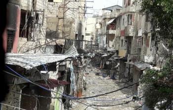 صورة أرشيفية من حي الطيرة في مخيم عين الحلوة
