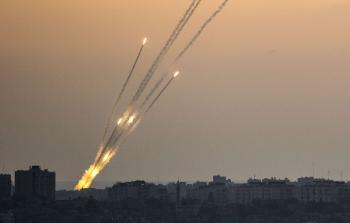 صواريخ تستهدف مستوطنات الاحتلال في محيط قطاع غزة