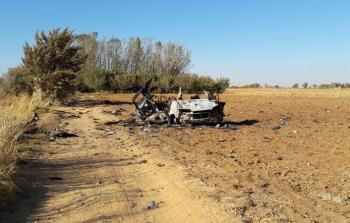 الفريق المدني ينتشل جثث من قضوا على طريق الموت في مخيم خان الشيح