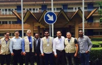 فريق طبي فلسطيني يُنجز مهمّة طبيّة الأولى من نوعها في رواندا