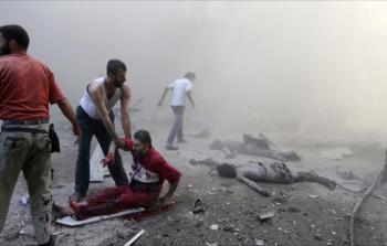 ضحايا القصف على غوطة دمشق