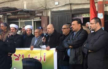اعتصام في مخيّم البداوي تضامناً مع الأسرى في سجون الإحتلال