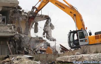 الاحتلال يهدم بنايتين سكنيّتين في القدس المحتلة