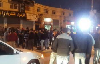 احتجاجات على اعتقال السلطة لشبان من مخيم الدهيشة للاجئين