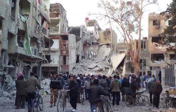 مخيم اليرموك (أرشيف)