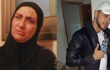 تشييع جثمان الشهيدة سهام نمر في مخيّم شعفاط
