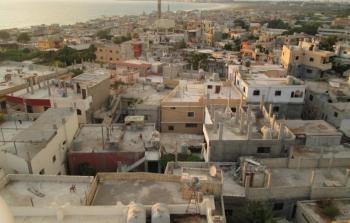 حملة تنظيف وطلاء الجدران في مخيّم الرشيدية
