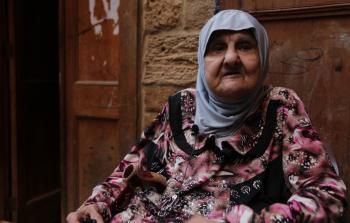 سيدة لبنانية من مدينة صيدا
