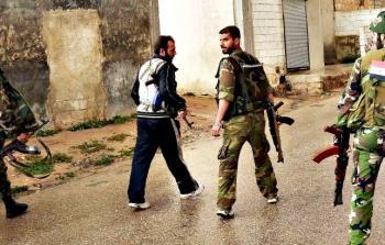 عناصر الأمن السوري تعتدي على حفل زفاف في مخيّم خان الشيح بريف دمشق
