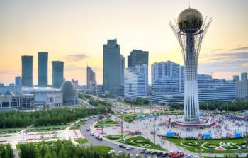 صورة لاستانا عاصمة كزاخستان
