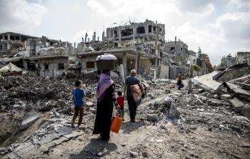 70% من المتضررين إثر العدوان الصهيوني على غزة عام 2014 من اللاجئين الفلسطينيين