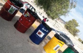 الحاويات لفرز المواد والمخلفات البيئية