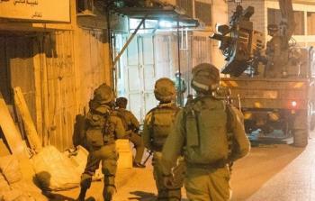 خلال اقتحام قوات الاحتلال لمناطق في الضفة المحتلة