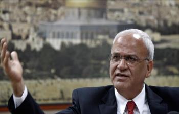 أمين سر اللجنة التنفيذية لمنظمة التحرير الفلسطينية صائب عريقات