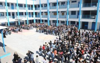 إحدى مدارس الأونروا في قطاع غزة
