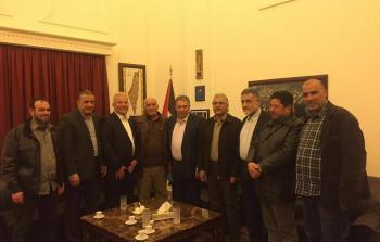 لقاء أمني مع السفير دبور لنقاش سبل انجاح القوّة الأمنيّة في مخيّم عين الحلوة