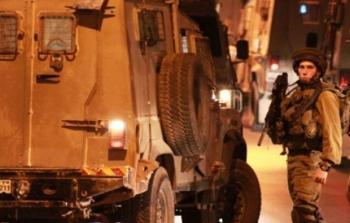 اقتحامات واعتقالات بمناطق متفرقة بالضفة المحتلة