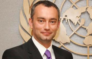 المنسق الخاص لعملية السلام في الشرق الأوسط نيكولاي ملادينوف