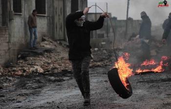 اندلاع مواجهات عنيفة في مخيم شعفاط للاجئين ومناطق أخرى في الضفة المحتلة والقدس