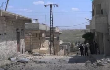 أنقاض مخيم حندرات تحت سيطرة لواء القدس