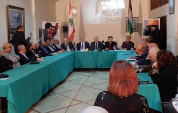 لقاء لبناني فلسطيني في بيروت لتعزيز المقاطعة ودعم الانتفاضة الفلسطينية