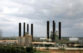 فلسطين المحتلة- محطة توليد الكهرباء في غزة