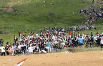 من مسيرة العودة في ذكرى النكبة 2011