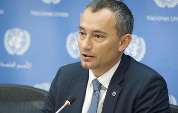 المنسق الأممي الخاص لعملية السلام في الشرق الأوسط نيكولاي ملادينوف