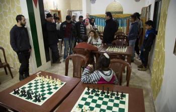 ملتقى الشطرنج.. فسحة ذهنية لأطفال مخيم شاتيلا