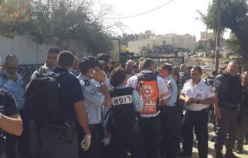 من موقع عملية إطلاق النار في القدس المحتلة