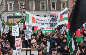 نجاحات مُتتالية في ايرلندا لحركة مقاطعة الاحتلال دعماً للحقوق الفلسطينية