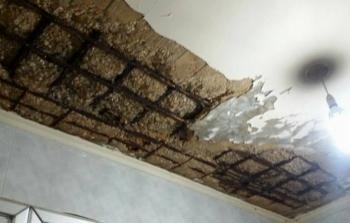 انهيار سقف منزل في مخيّم برج البراجنة بعد تجاهل