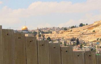 خطة لإقامة جدار على الأحياء الفلسطينية والمخيّمات في القدس المحتلة