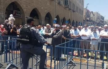 حصار وإغلاق المسجد الأقصى والبلدة القديمة