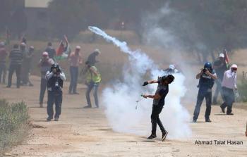 مواجهات عنيفة وإصابات بالضفة المحتلة وقطاع غزة في جمعة الغضب