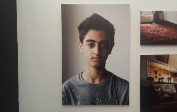 صورة الطفل يزن أحد أبناء مخيم اليرموك