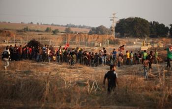 اختفاء آثار شاب من مخيم النصيرات للاجئين خلال مواجهات شرق مخيم البريج وسط قطاع غزة