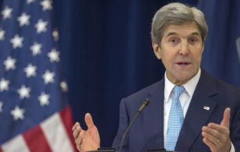 كيري يعرض موقف إدارة أوباما حول سبل تسوية الصراع