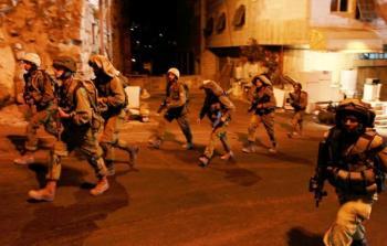 صورة أرشيفية من اقتحامات قوات الاحتلال في الضفة المحتلة