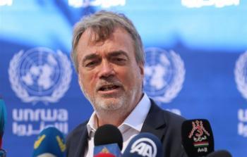 مدير عمليان أونروا في غزة: يدعو لإعادة طرح
