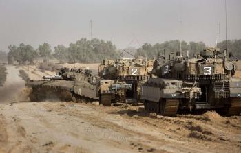 توغل محدود لآليات الاحتلال شرق مخيم البريج