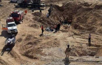 فرق الإنقاذ تواصل أعمال البحث عن المفقودين في النفق