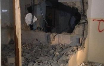 منزل الأسير أمجد عليوي في نابلس المحتلة