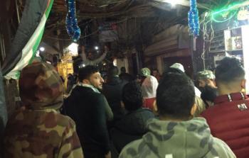 مظاهرة لشباب مخيّم شاتيلا للمطالبة بالعمل